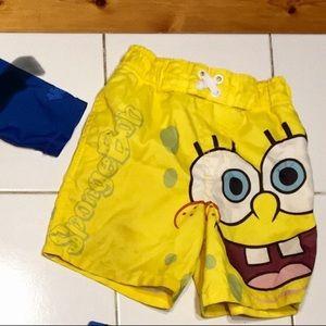 FREE with purchase Sponge Bob Swim Trunks